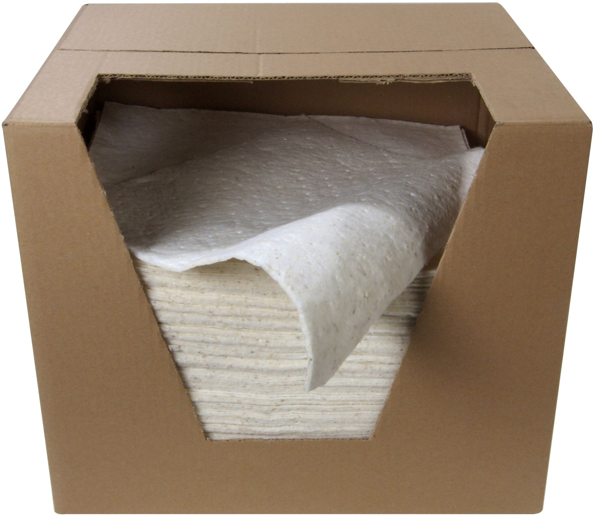 ESP Coldform2 Oil - Only Cellulose Double Sided Laminated Sorbent Pad, 18'' Length, 16'' Width, 22 Gal/Pkg (Pack of 100)