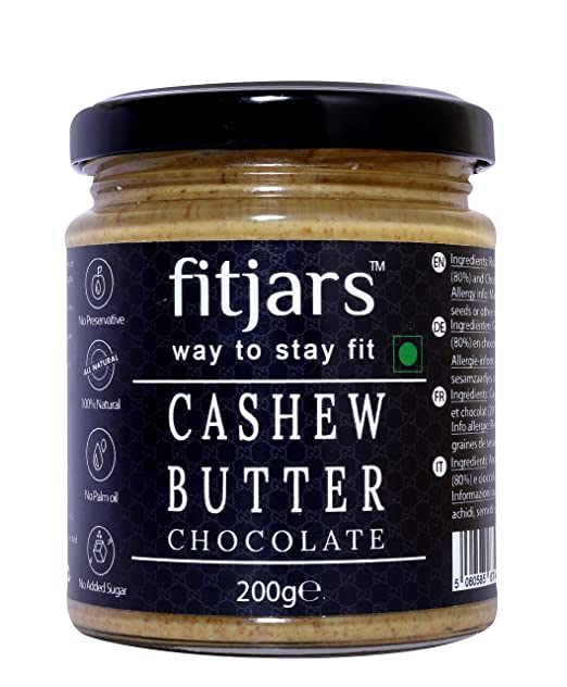Fitjars cashew butter chocolate