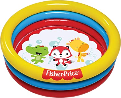 Amazon.com: Fisher Price 3-Ring Diversión y colorido bola ...