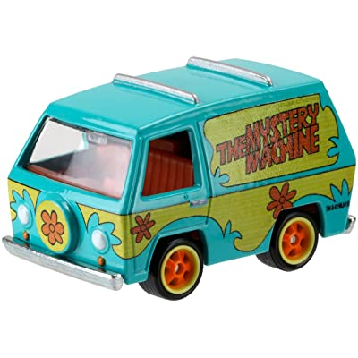 Hot Wheels, Retro Entertainment, Scooby Doo! The Mystery Machine Die-Cast Vehicle: Toys & Games