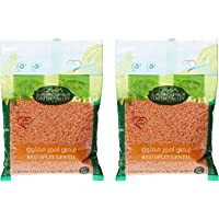 Green Valley Red Split Lentil, 1 kg + 1 kg