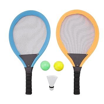 Amatted Raquetas de Tenis de bádminton, Juego de Raquetas de Tenis ...