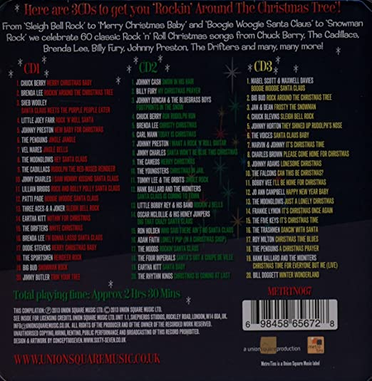 various artists rock n roll christmas various amazoncom music - Classic Rock Christmas Songs