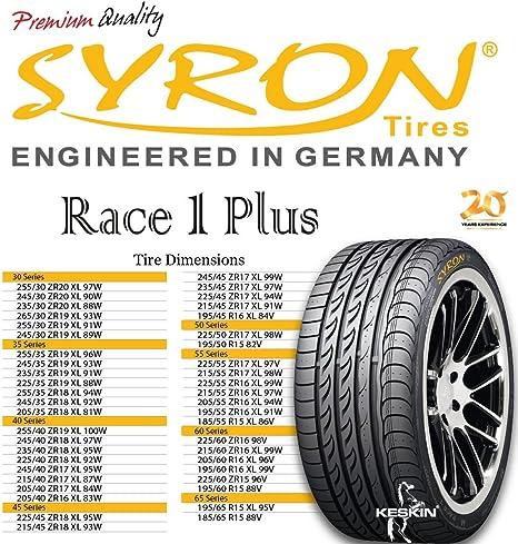 Syron Tires Race1 Plus Xl 235 45 17 97 W E C 73db Sommer Pkw Auto