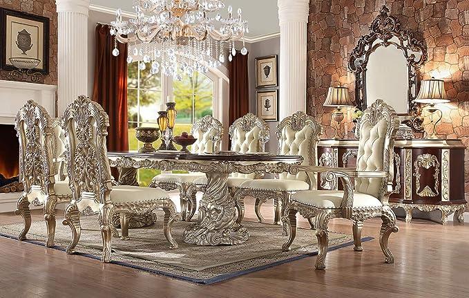 Amazon.com - Inland Empire Furniture Viviana 9 Piece Formal ...