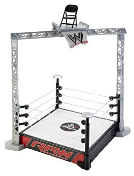 1506b6229a6c WWE Raw Toy Playset - Super Strikers Slam N Launch Arena - World Wrestling  Entertainment Figure