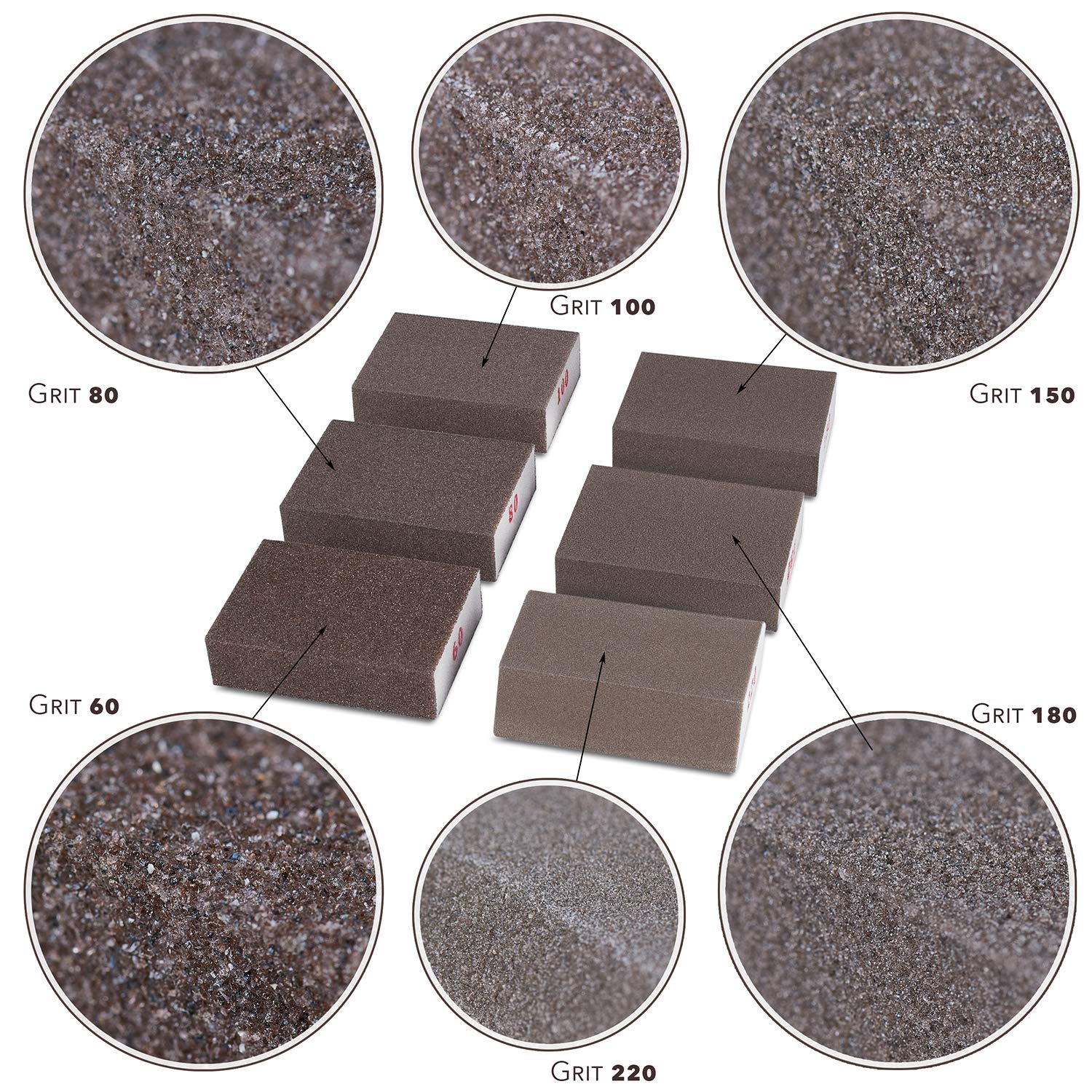 New Creative Grit Sand Paper Wet and Dry Abrasive Sandpaper Assortment Hot PS