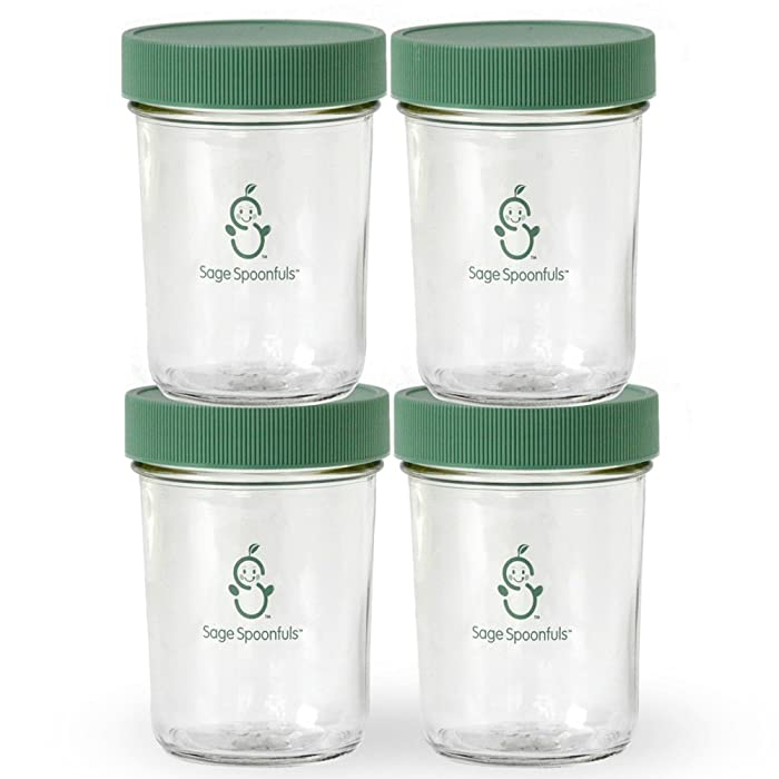 The Best Glass Baby Food Jars 8Oz