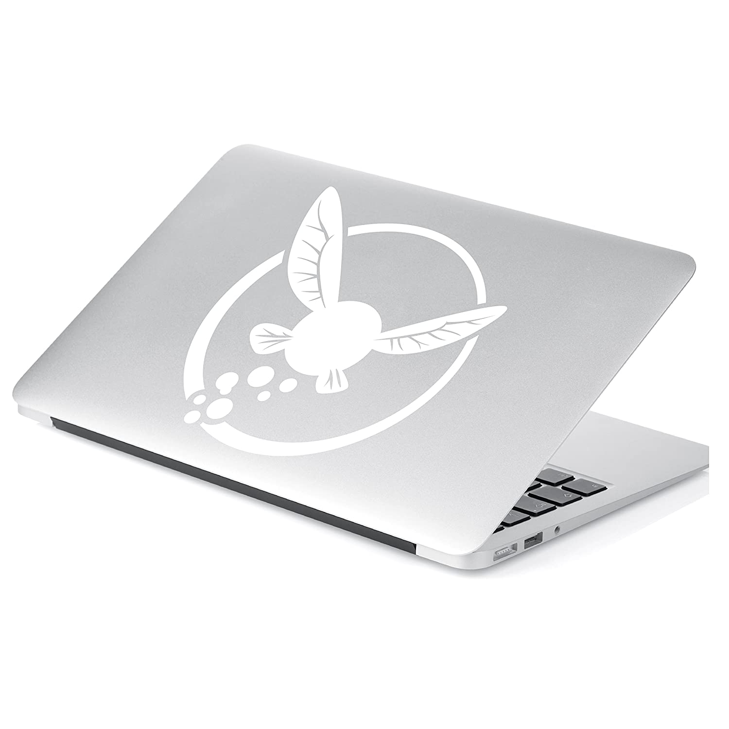 Yoonek Graphics Zelda Navi Vinyl Decal Sticker # 834 6 x 5.6, White