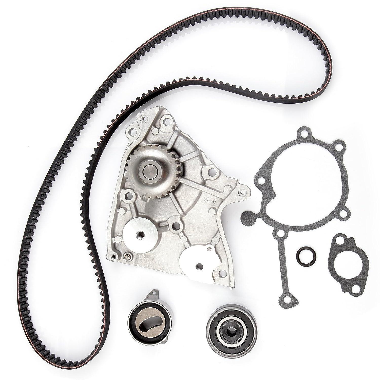 ECCPP New Timing Belt Water Pump Kit Fits 1995-2002 Kia Sportage 2.0L DOHC 16 Valve Eng. Code'FED' BHBU0503A3807