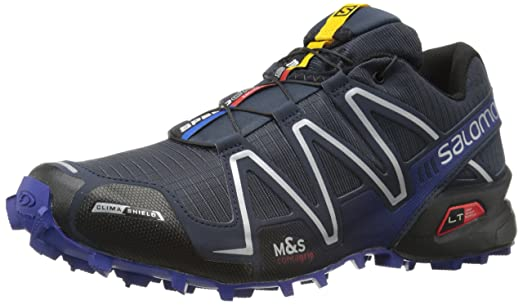 Salomon Men's Speedcross 3 CS Trail Running, Deep Blue, 8 D US