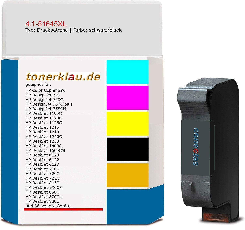 compatible Impresión cartucho de tinta/4.1 – 51645 X L para: HP ...
