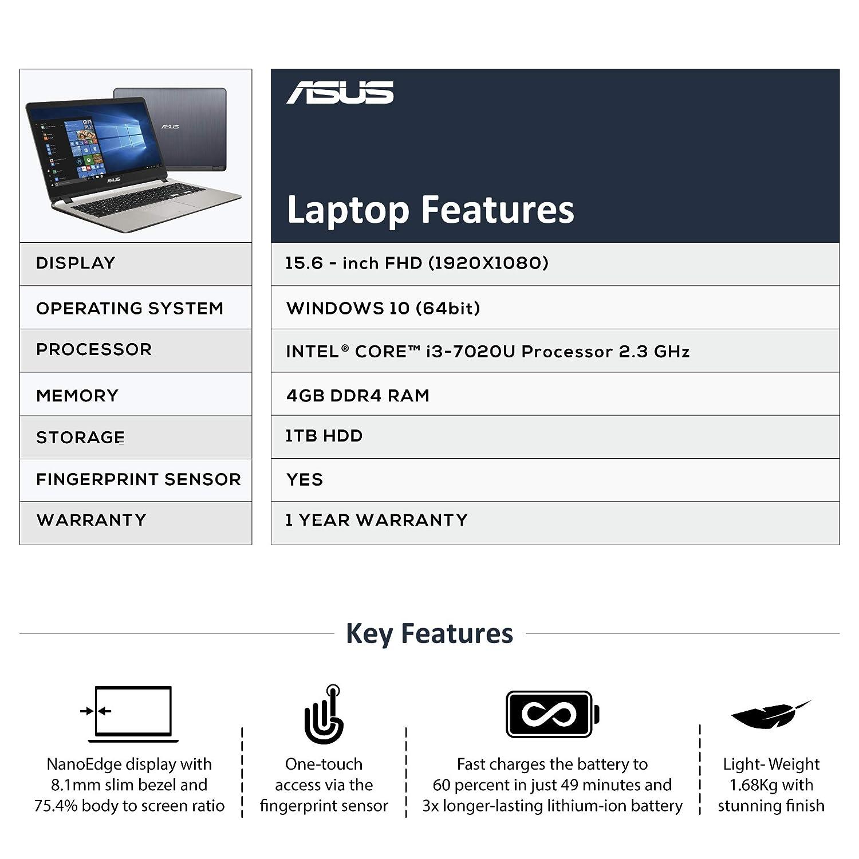 ASUS X507 UA-EJ313T laptop