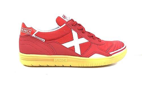 Munich Zapatillas de fútbol sala Gresca Rojo Rojo Size: 39: Amazon.es: Zapatos y complementos
