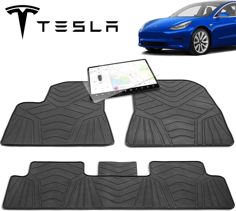 Maxats Tesla Model 3 Floor Mats 2017-2021