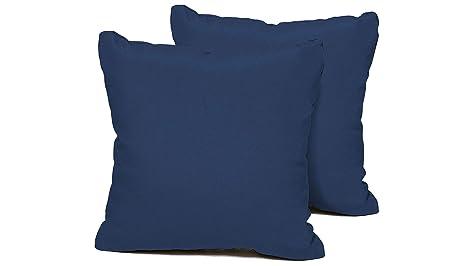 Amazoncom Tk Classics Pillow Navy S 2x Outdoor Square Throw