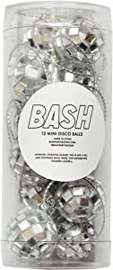 Bash Party Goods Disco Balls, Silver
