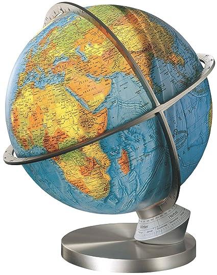 Columbus Marco Polo Globo de escritorio iluminado de 33 cm: Amazon ...