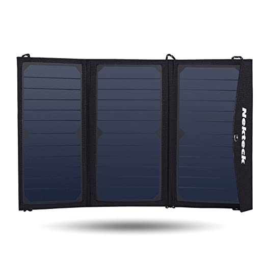 Nekteck Solar Charger for use with all USB devices