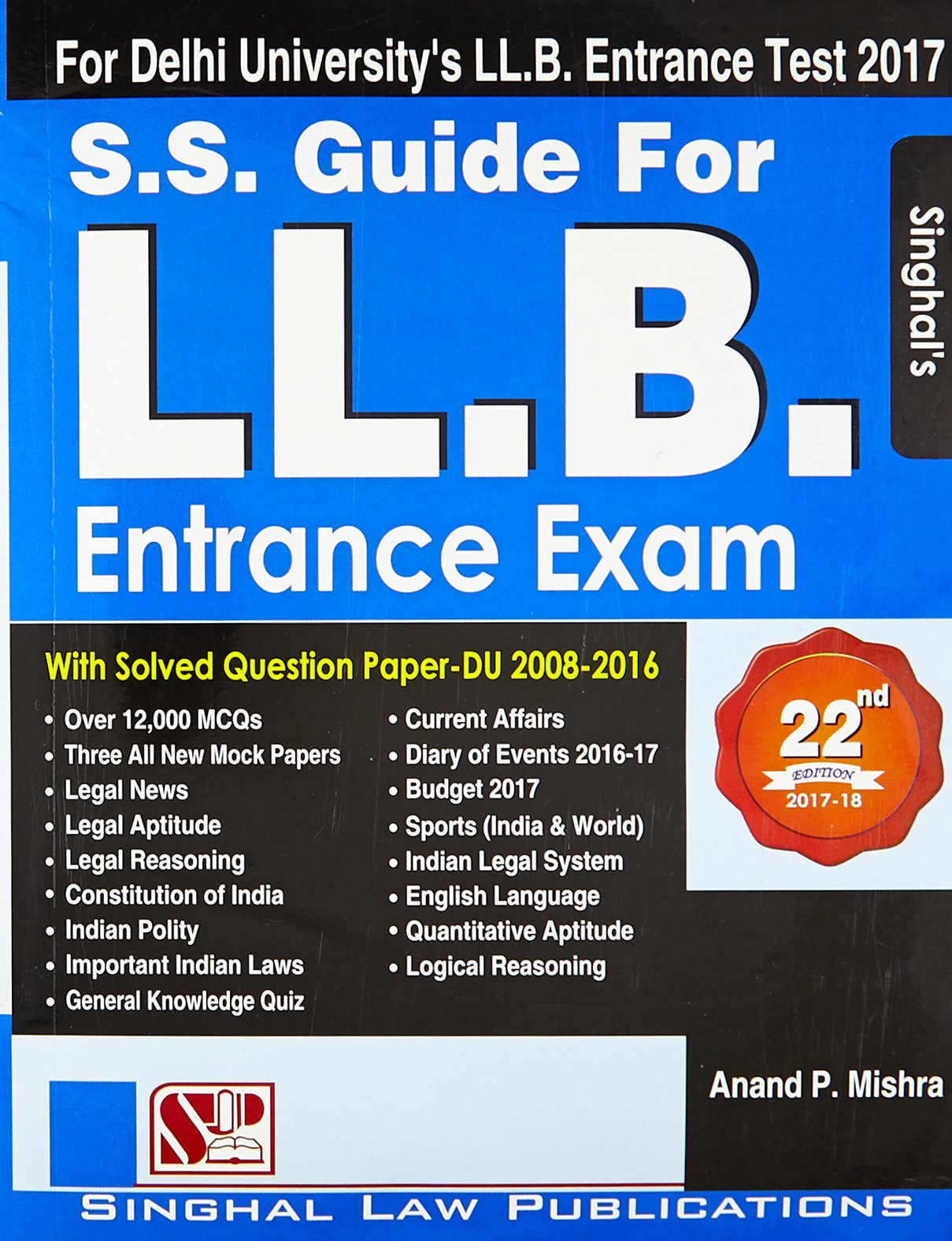 Buy S.S Guide for L.L.B Entrance Exam Book Online at Low Prices in India |  S.S Guide for L.L.B Entrance Exam Reviews & Ratings - Amazon.in