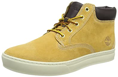 Timberland Dauset Chukka Mens Leather Boots-Tan-9