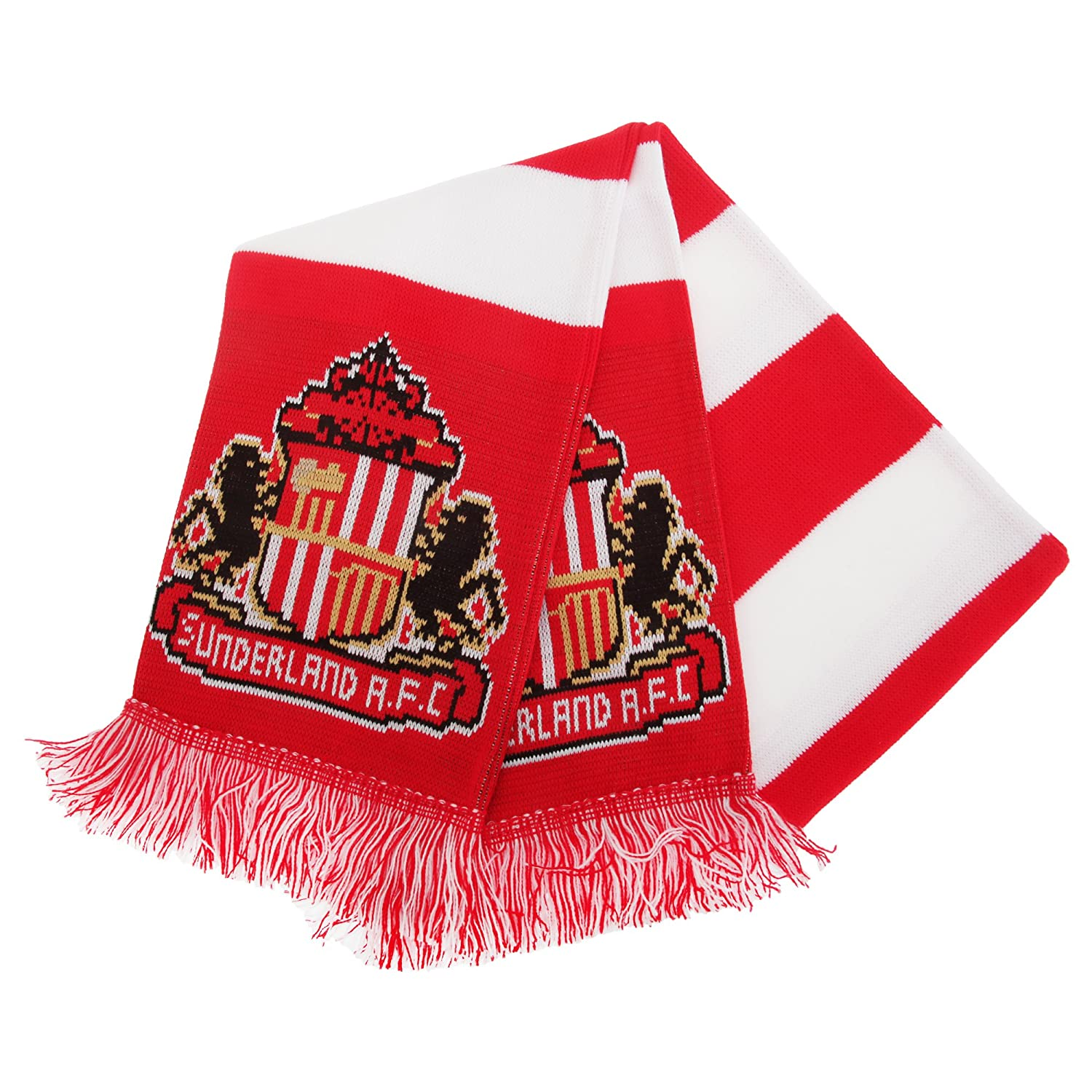 Sunderland AFC Official Football Supporters Crest//Logo Bar Scarf