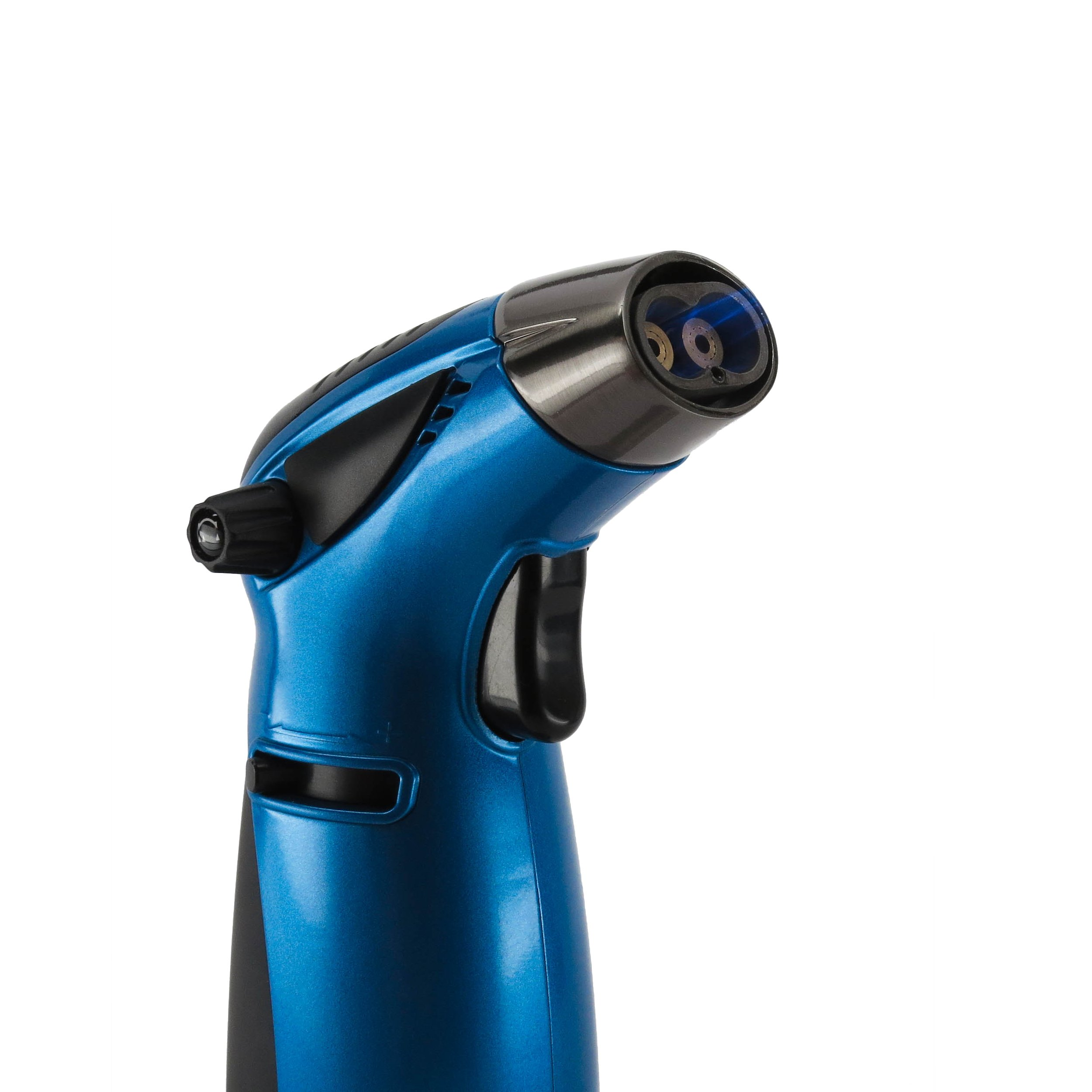Zico MT39 Table Top Torch Lighter (Blue) with Leaf Lock Gear Spill Proof Pouch by Zico, Leaf Lock Gear (Image #2)