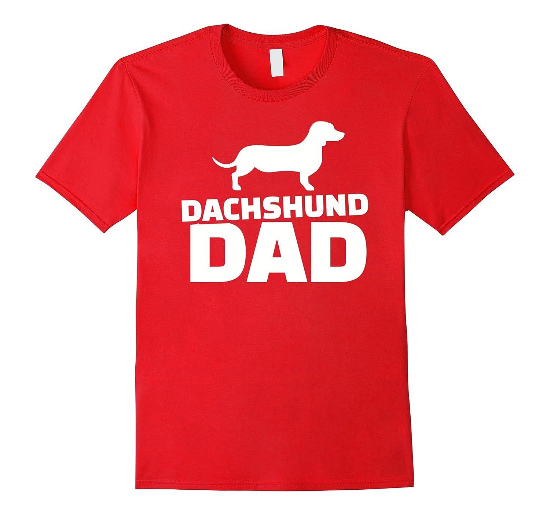 Men's Dachshund Dad T-Shirt-Art