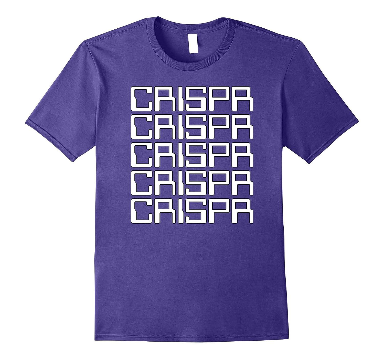 CRISPR T-Shirt, Cool retro 80s computer text CRISPR shirt-TH