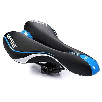 Asvert Sillín de Bicicleta Antiprostático de Ciclismo Transpirable ...