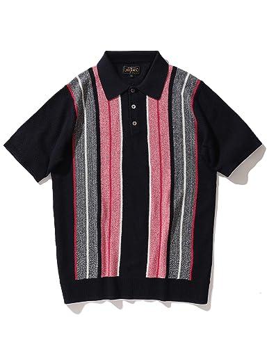 Stirpe Knit Polo 11-02-0402-048: Navy