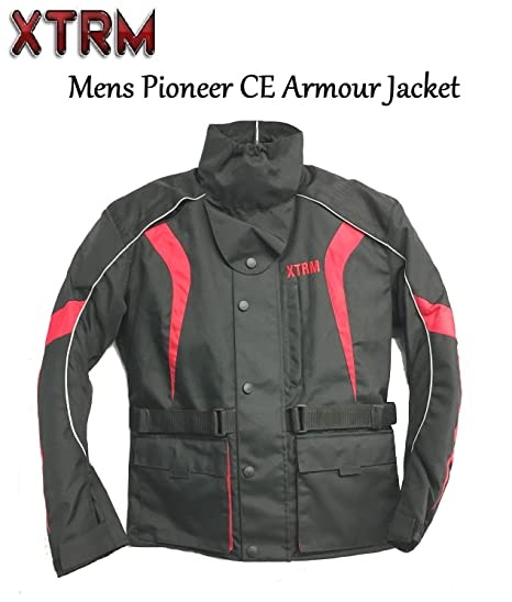 Motorcycle Jacket Waterproof Motorbike Jackets for Men XTRM PIONEER Bike Touring Wear CE Armoured Textile Rider Jacket