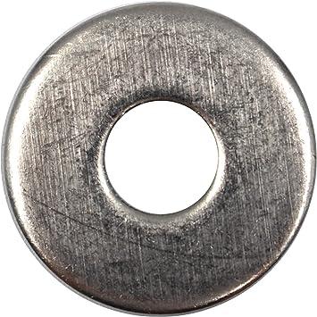 100 Stück  Unterlegscheiben Edelstahl DIN 9021 M3    V2A
