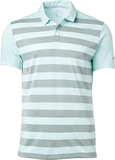 Nike Mens Striped Golf Polo: Amazon.es: Deportes y aire libre