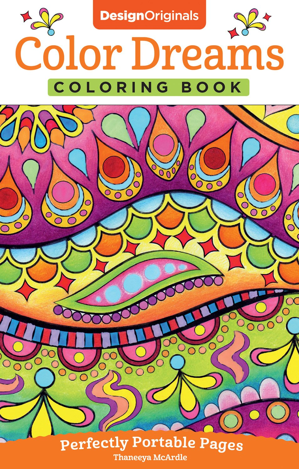 Art color book - Amazon Com Color Dreams Coloring Book Perfectly Portable Pages On The Go Coloring Book 9781497200364 Thaneeya Mcardle Books