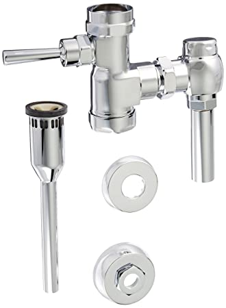 zurn urinal flush valve repair kit adjustment standard manual chrome removal