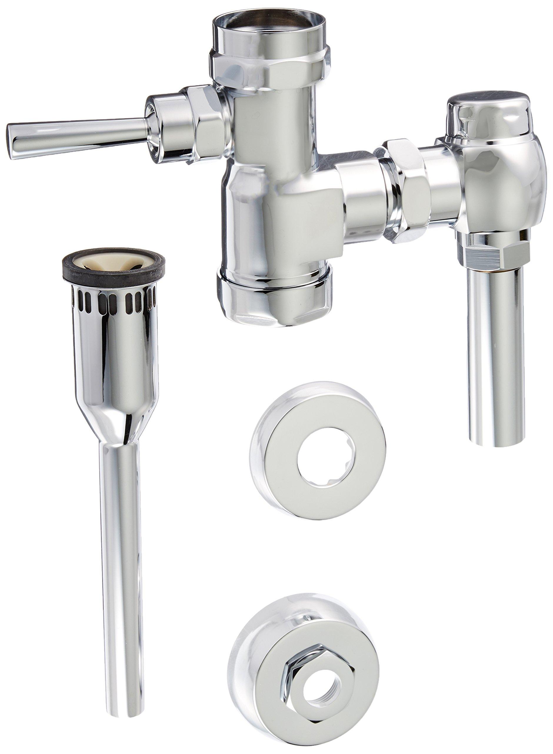 American Standard 6045510.002 1.0 GPF Manual FloWise Urinal Flush Valve, Chrome