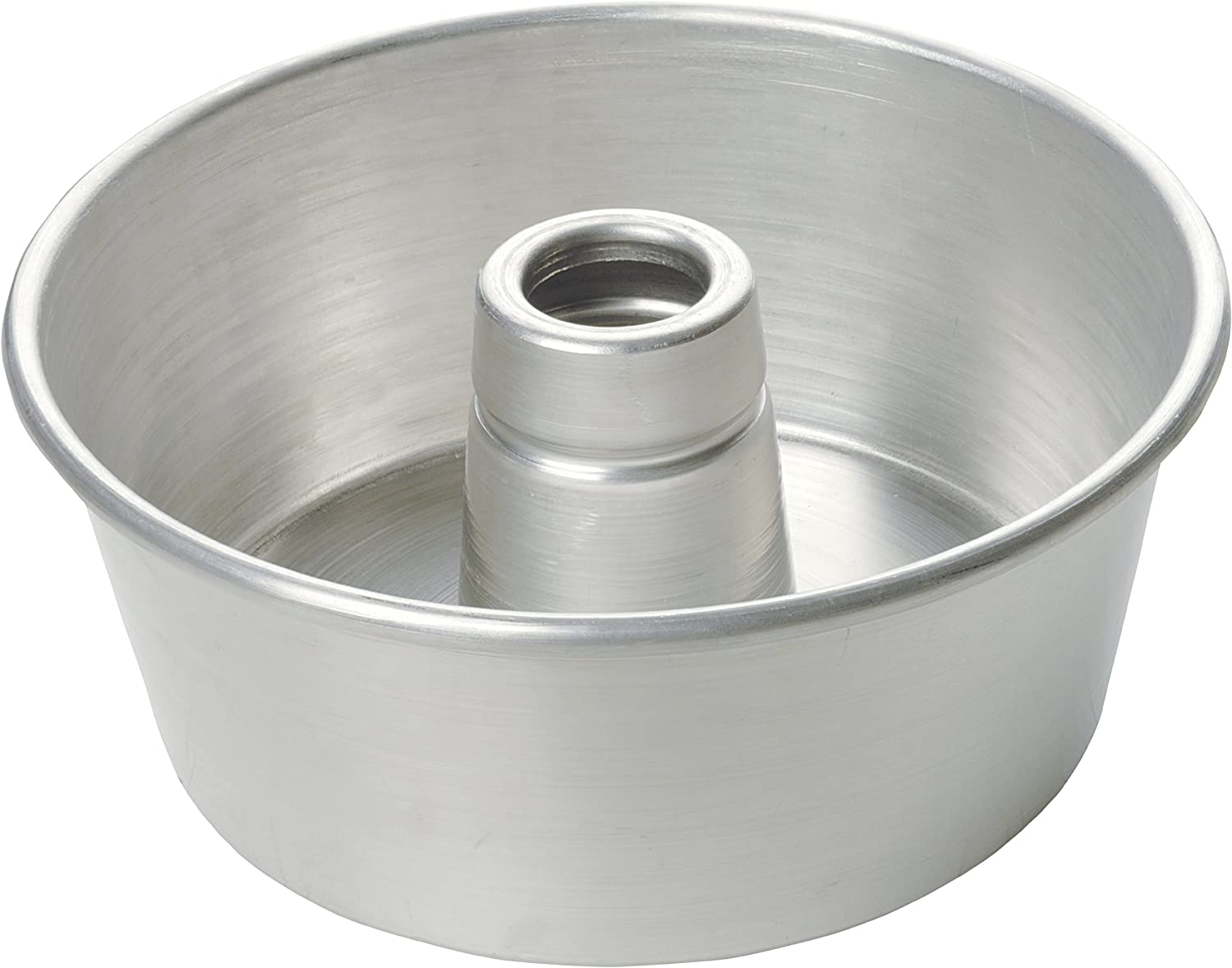 Focus Foodservice Commercial Bakeware 9-1/4-Inch Aluminum Tube Cake Pan