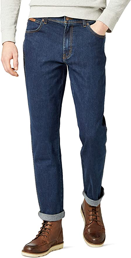 142 opinioni per Wrangler Texas Contrast Jeans Uomo
