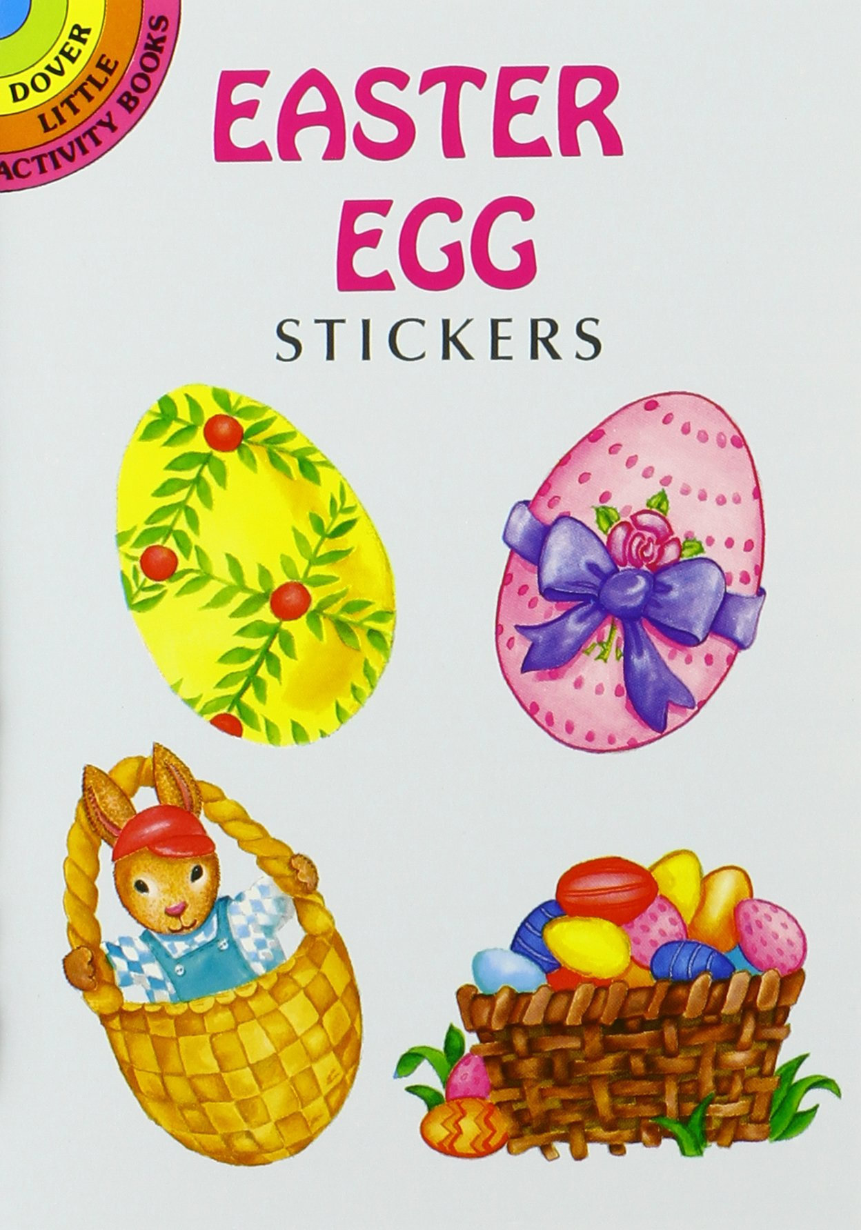10 Easter Fun Books: Stickers, Stencils, Tattoos and More (Dover Little Activity Books) by Dover Publications (Image #6)