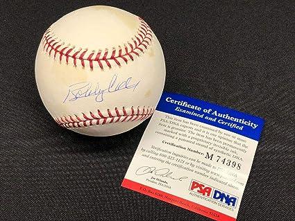 Frank Jeff Francouer royals Signed Baseball W/ Psa Coa