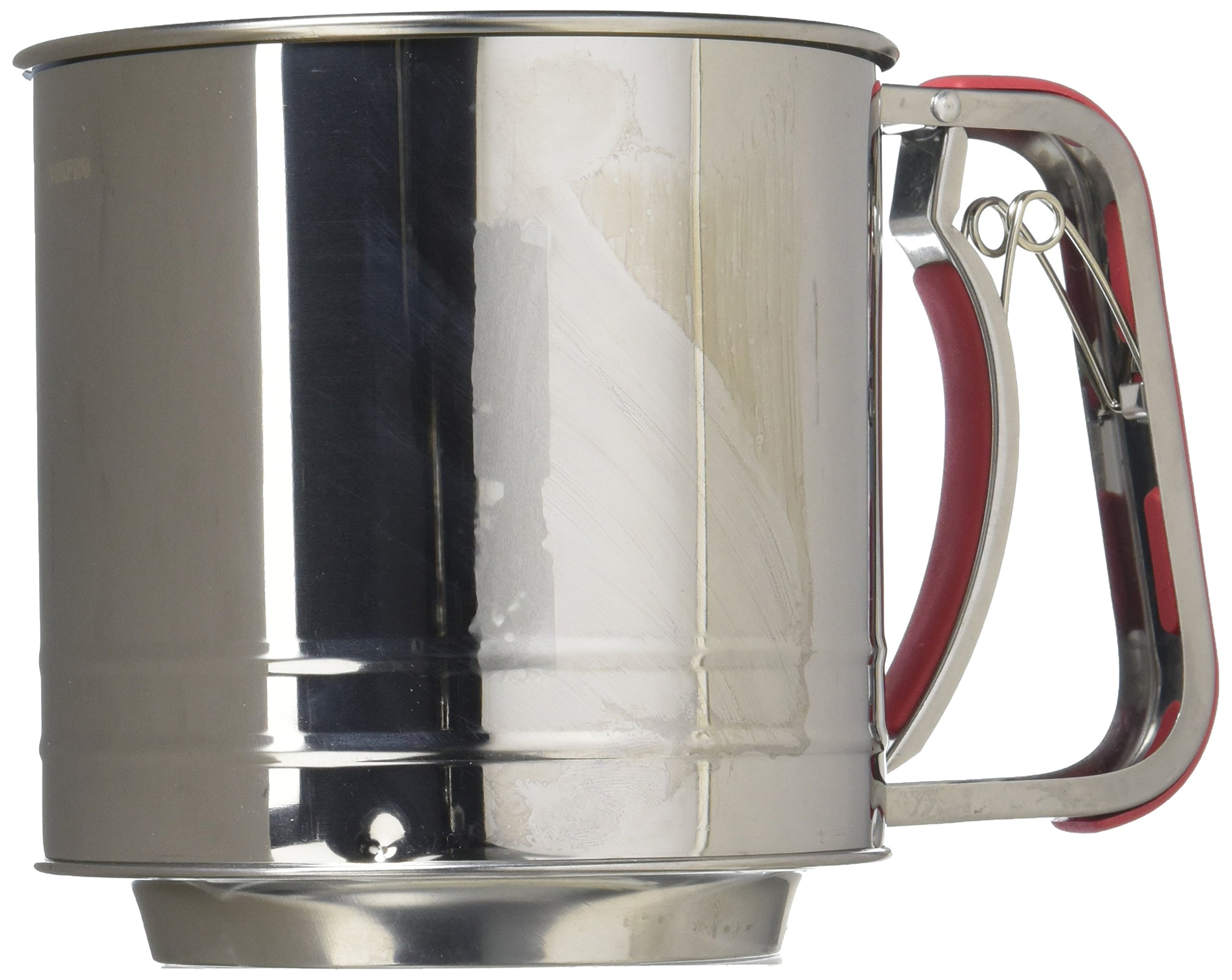Norpro 5-Cup Stainless Steel Spring-Action Sifter