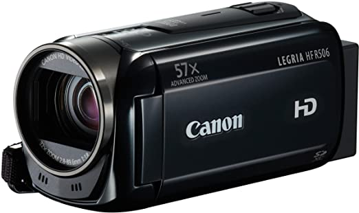 99 opinioni per Canon LEGRIA HF R506 Videocamera Digitale FULL HD, Stabilizzatore Intelligent