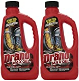Amazon Price History for:Drano 00117-2PK Max Clog Remover (Pack of 2), 32 oz