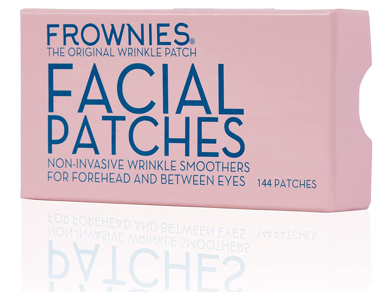 Frownies Forehead and Eyes 144 Facial Anti Wrinkle Patches  Original  Wrinkle Smoothers Since 1889