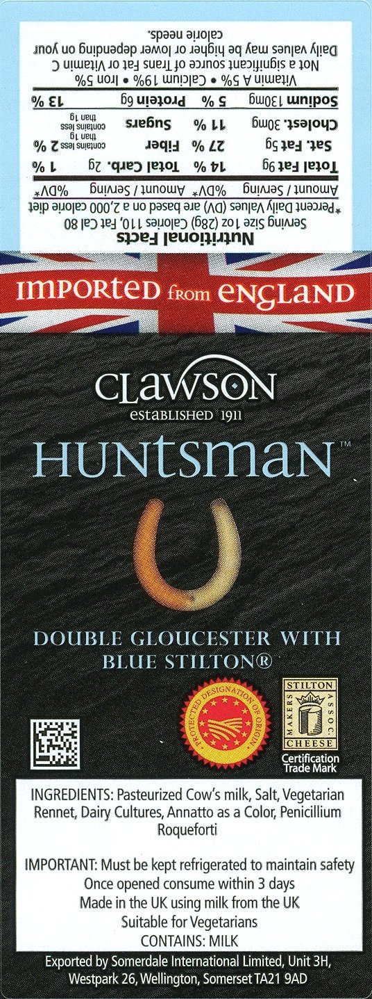 Long Clawson, Huntsman Cheese (2x1 pound)