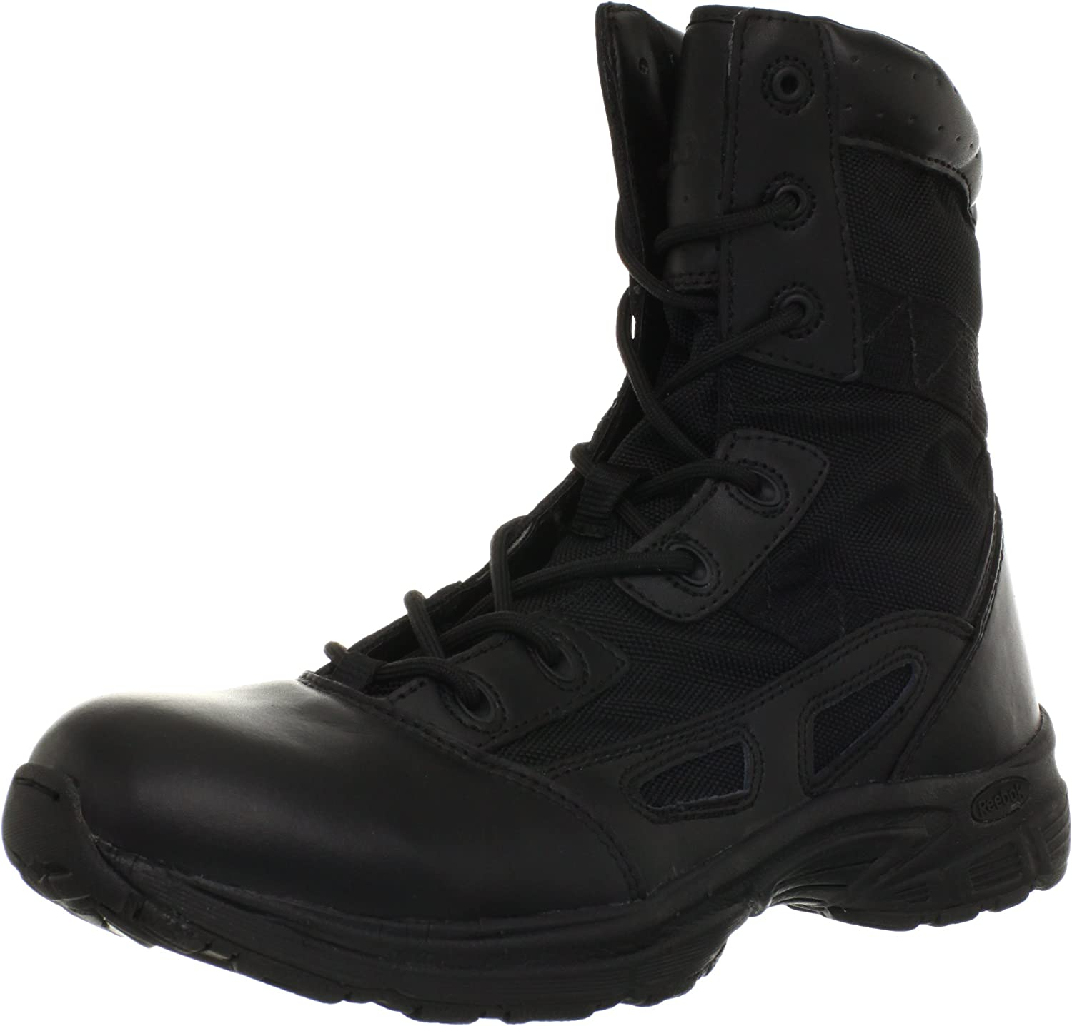 """Reebok Work Men/'s 8/"""" Hyper Velocity RB8281 Soft-Toe Military Boot Color COYOTE"""
