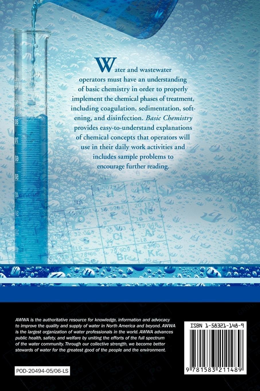 Basic Chemistry for Water and Wastewater Operators: Darshan Singh Sarai:  9781583211489: Amazon.com: Books