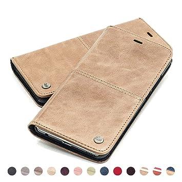 QIOTTI – Funda iPhone 8 iPhone 7 I RFID NFC protección I Incl. Protector de