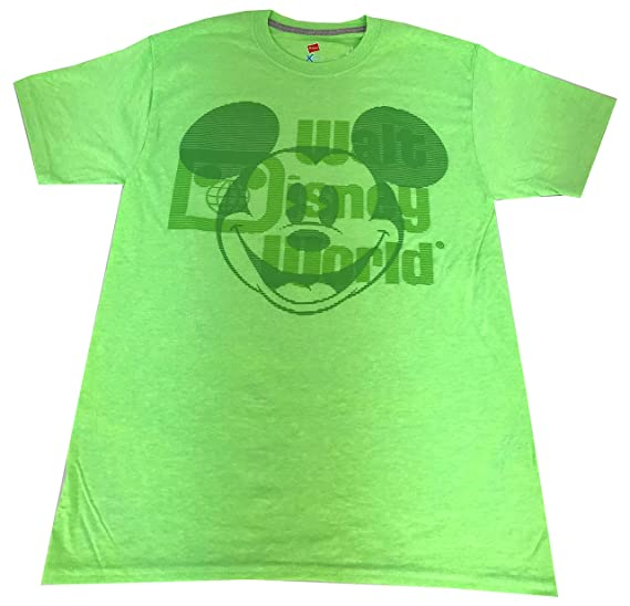 1b5ca050b DisneyParks Mickey Mouse Walt Disney World Shirt Mens Adult Green (Small)